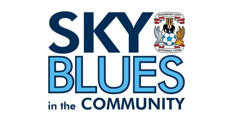 Sky Blues in the Community logo