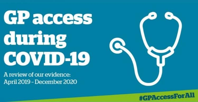 GP Access report logo stethoscope image