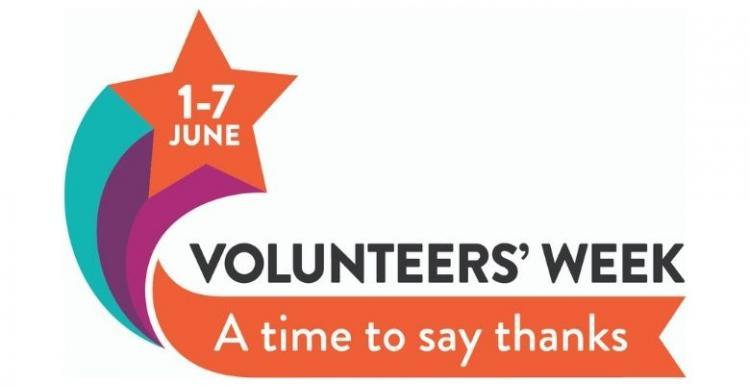 Volunteers' Week 2021 logo