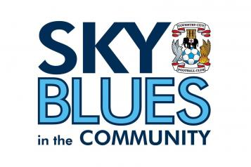 Sky Blues in the Community logo