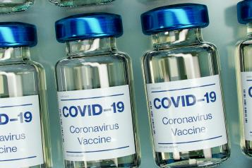 Image 0f Covid-19 vaccine bottle