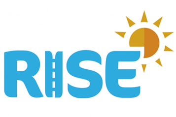 Image shows the RISE logo