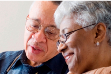 Picture of older man and woman