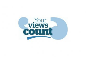 Your views count slogan